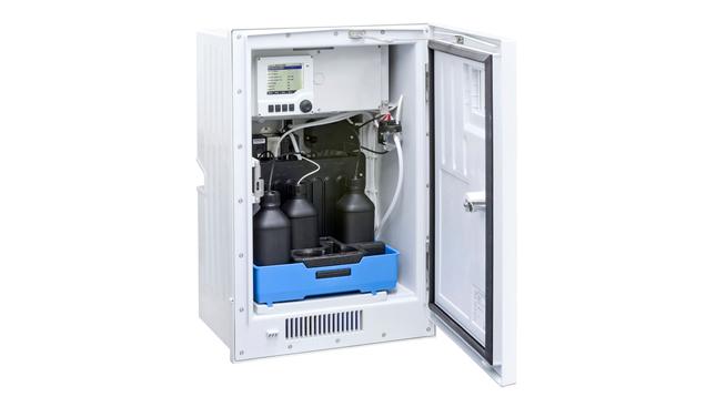 Liquiline System CA80FE – вид анализатора содержания железа изнутри