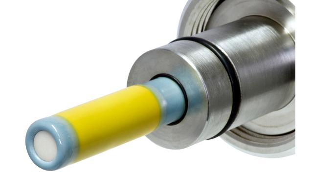Ceramax CPS341D - Подробный вид pH-чувствительного эмалевого покрытия