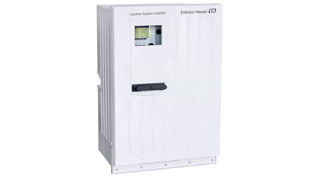 Liquiline System CA80FE – высокоточный анализатор процесса для измерения содержания железа