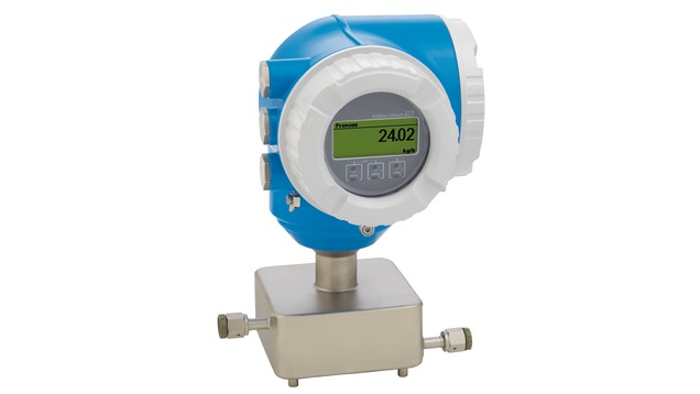 Coriolis flowmeter - Proline Cubemass C 300
