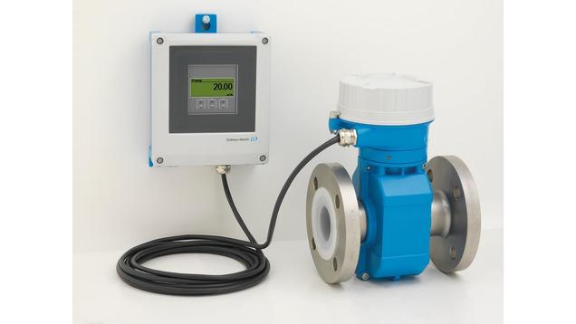 Расходомер Proline Promag P 500 для химической промышленности, промышленной и муниципальной водоочистки и водоотведения