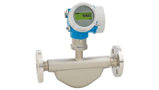 Coriolis flowmeter - Proline Promass E 200