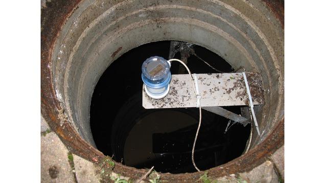 Prosonic FMU30 wastewater application