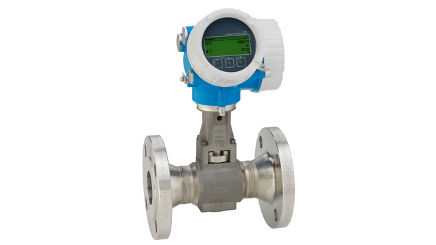 Proline Prowirl F 200Vortex flowmeter