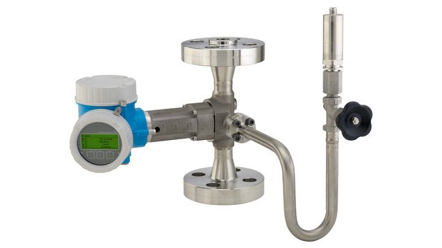 Prowirl O 200 with mounted pressure measuring unit for steam